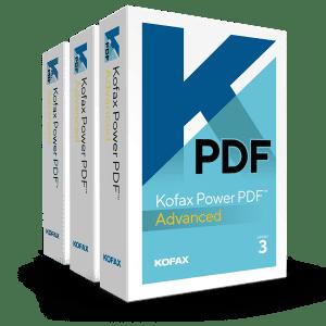 Kofax Power PDF Advanced