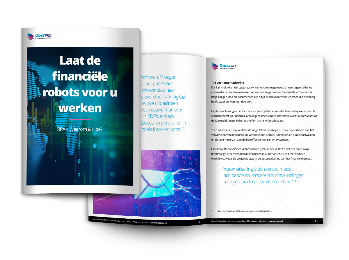 File van ROBOTIC PROCESS AUTOMATION